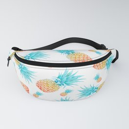 Tropical Fruit Pineapple Pattern Fanny Pack
