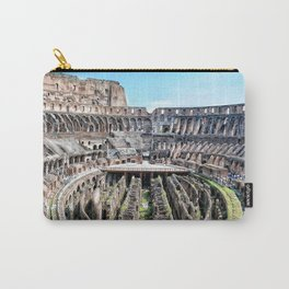 Roma, Colosseo interno | Rome, inside colosseum Carry-All Pouch