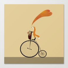 I want to ride my unicycle Canvas Print