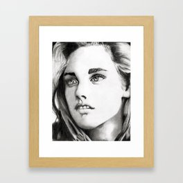 Kristen Stewart Framed Art Print