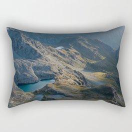 Mountain Sunset Rectangular Pillow