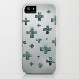 Crosses - Green iPhone Case