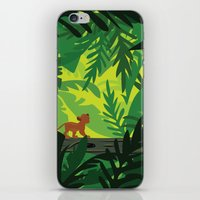 simba iPhone & iPod Skins featuring Lion King - Simba Pattern by Cina Catteau