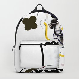 No.1 - Beauty isn't only skin deep / b-ART / WHITE Backpack
