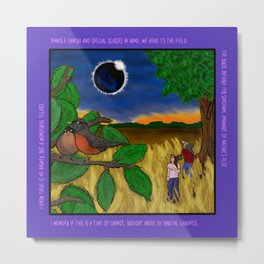 Solar Eclipse Dream Metal Print