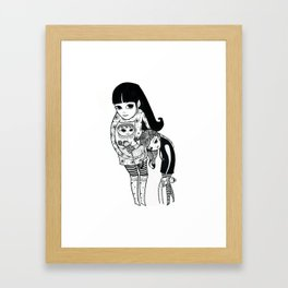 Fang Family Framed Art Print