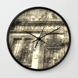 Greyfriars Bobby Pub Edinburgh Vintage Wall Clock