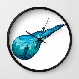 Final Fantasy VII Meteor Wall Clock