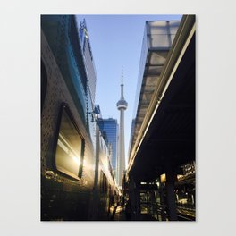 Tower in the 6 @ Union Canvas Print
