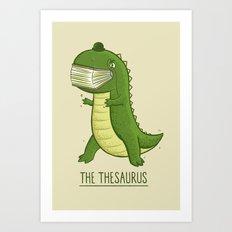The Thesaurus Art Print