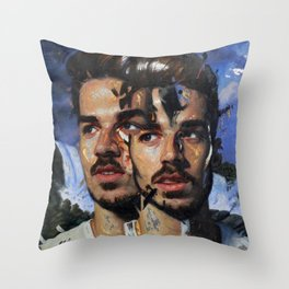 """""""Cascade"""" Throw Pillow"""