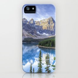 Moraine Lake #landscape #photography iPhone Case