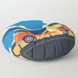 Surfer Bully Floor Pillow