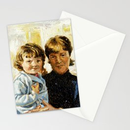 mother and child 1 Stationery Cards