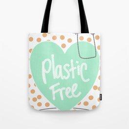 Reducing single use plastic art work Tote Bag