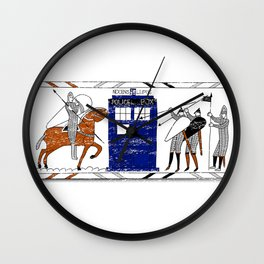Nocens Lupus (Bad Wolf) Wall Clock