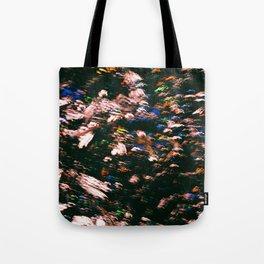 Colourful Blur Tote Bag