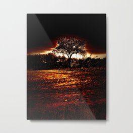 Between Worlds Metal Print