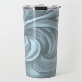 Swirl (Gray Blue) Travel Mug