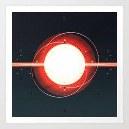 Star: Destruction Art Print