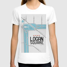 Chicago's Logan Square T-shirt