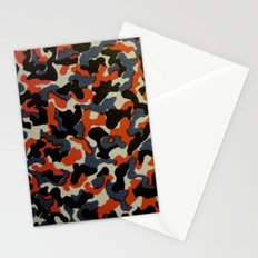 Berlin U-Bahn/S-Bahn Seat Cover Camouflage Pattern Stationery Cards