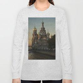Church of the Savior on Blood Long Sleeve T-shirt