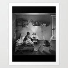 Waking Up Art Print