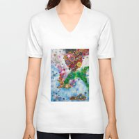 thailand V-neck T-shirts featuring Places Series - Thailand by JupiterInLove