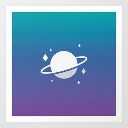 Planetary III Art Print