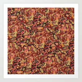 Tortoise Shell Pattern Art Print