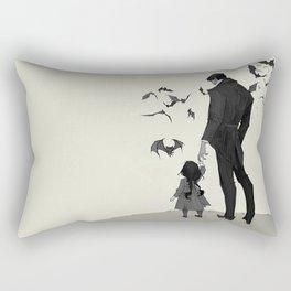 Father Daughter Time Rectangular Pillow