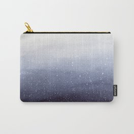 Falling Snow Carry-All Pouch