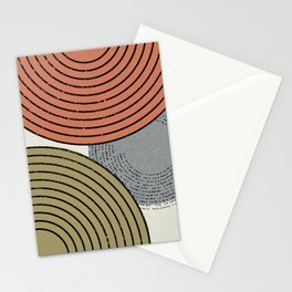 Retro Minimalist Design Stationery Cards