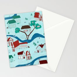 Maison canadienne Stationery Cards