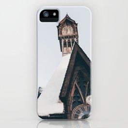 Clock Tower iPhone Case