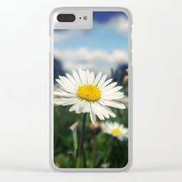 A Daisy in an Oregon Field Clear iPhone Case
