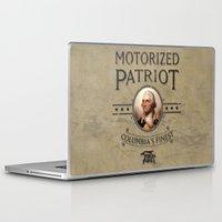 bioshock Laptop & iPad Skins featuring Bioshock Motorized Patriot by Liquidsugar