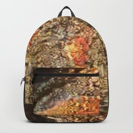New Fish in Bowl Backpack