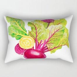 Red & Yellow Beets Rectangular Pillow