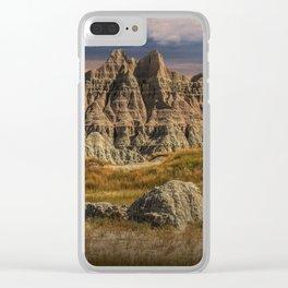 Badlands National Park Clear iPhone Case