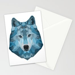 """Ice Wolf"" Stationery Cards"