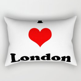 I love London Rectangular Pillow