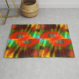 Spectrum Orange Rug