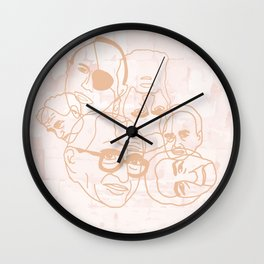 Israeli Leaders: Pattern 3 Wall Clock