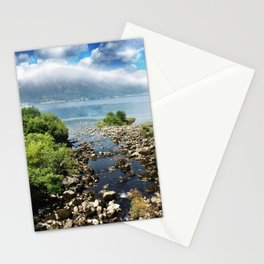 On the way to Kotor.. Stationery Cards