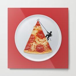 Pizza Topping Metal Print
