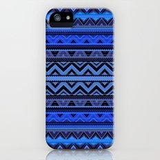 Mix #218 - Blue Aztec iPhone (5, 5s) Slim Case