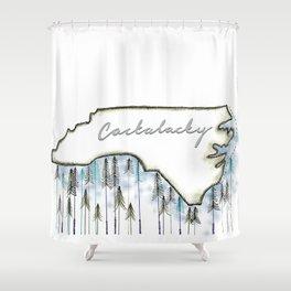 Cackalacky. Shower Curtain