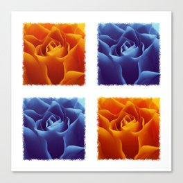 Warm and Cool Canvas Print